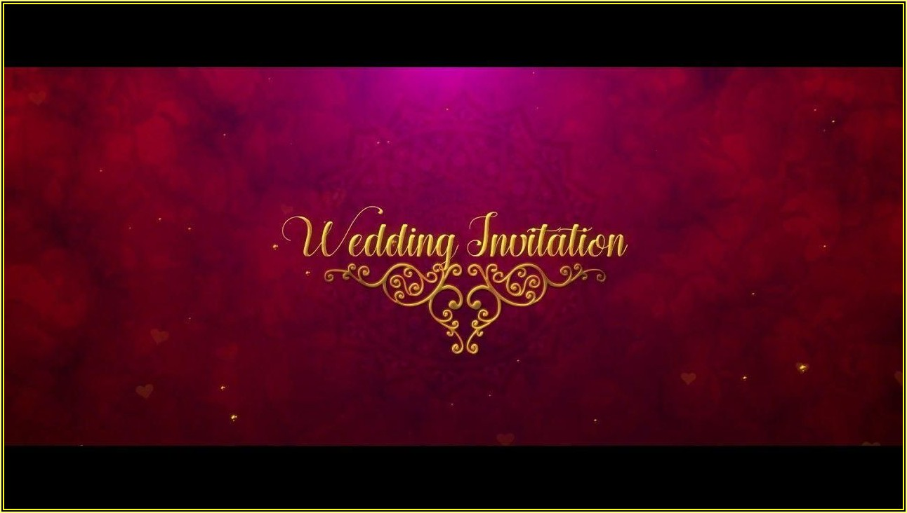 Indian Wedding Invitation Templates After Effects Free Download