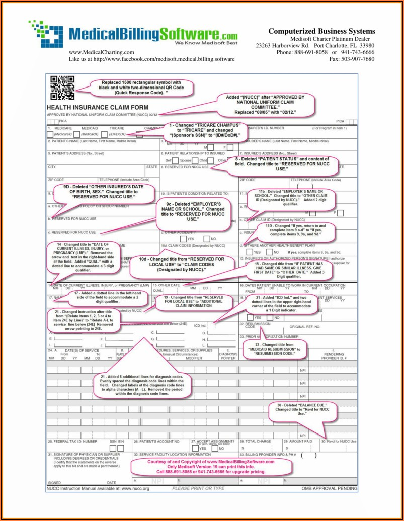 Insurance Claim Form Templates