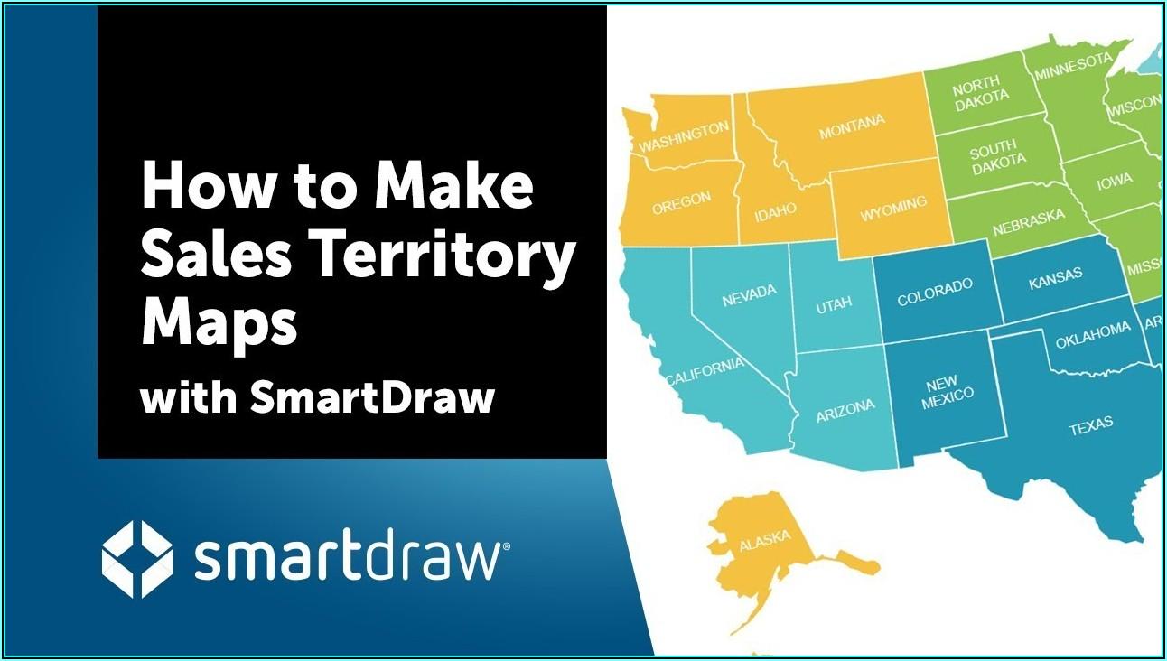 Interactive Map Sales Territories