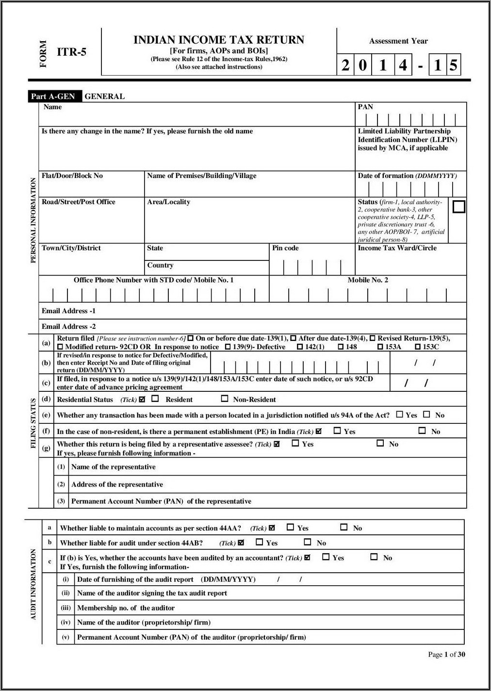 Irs Forms 1040ez 2014