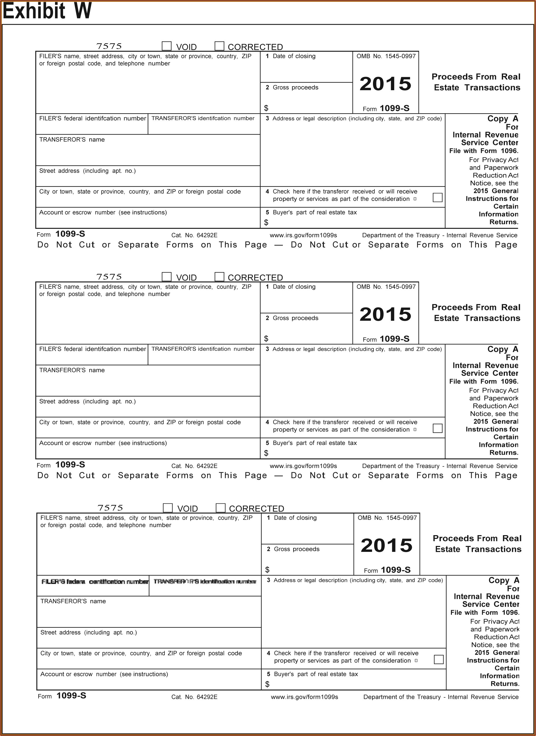 Irs.gov 1099 Form 2015