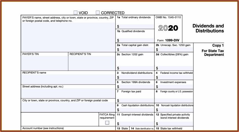 Irs.gov 1099 Form 2020