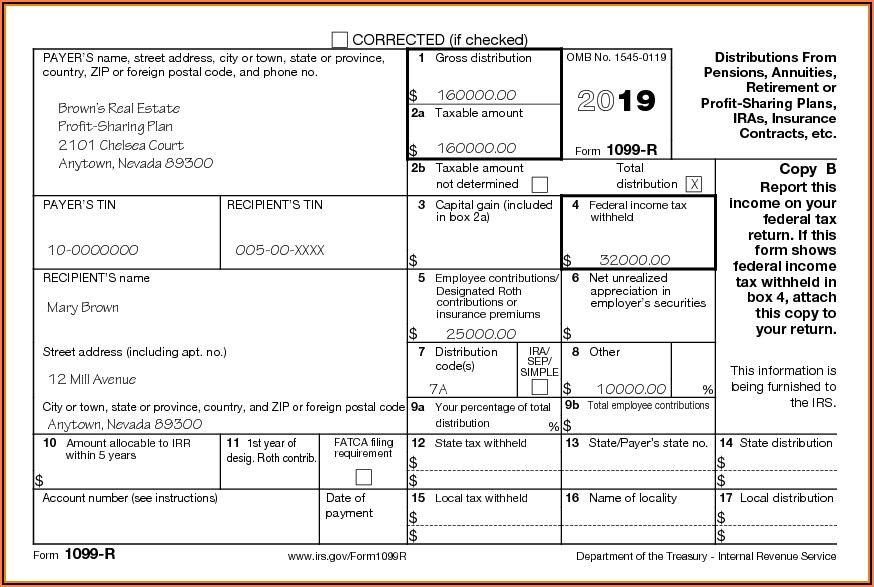 Irs.gov Form 1099 G