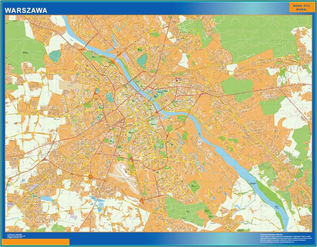 Laminated Wall Maps