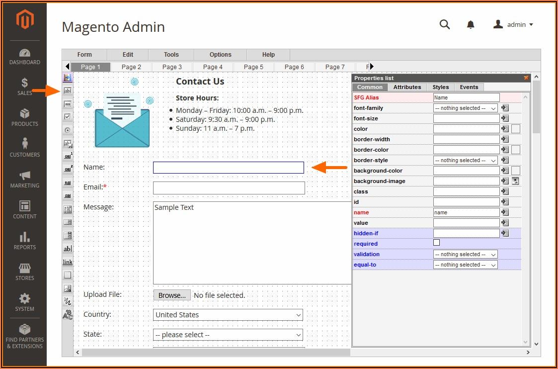 Magento Form Builder Module