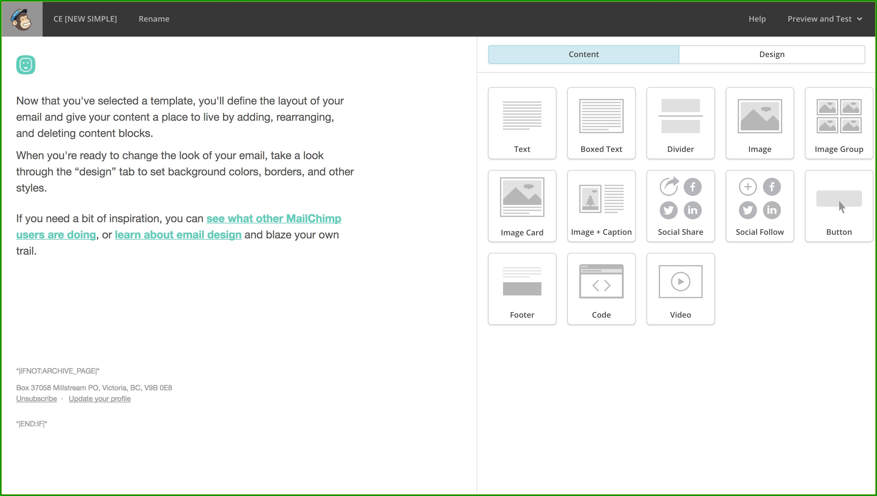 Mailchimp Template Maker