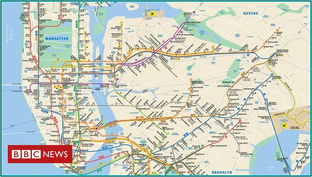 Maps Of New York Subway System