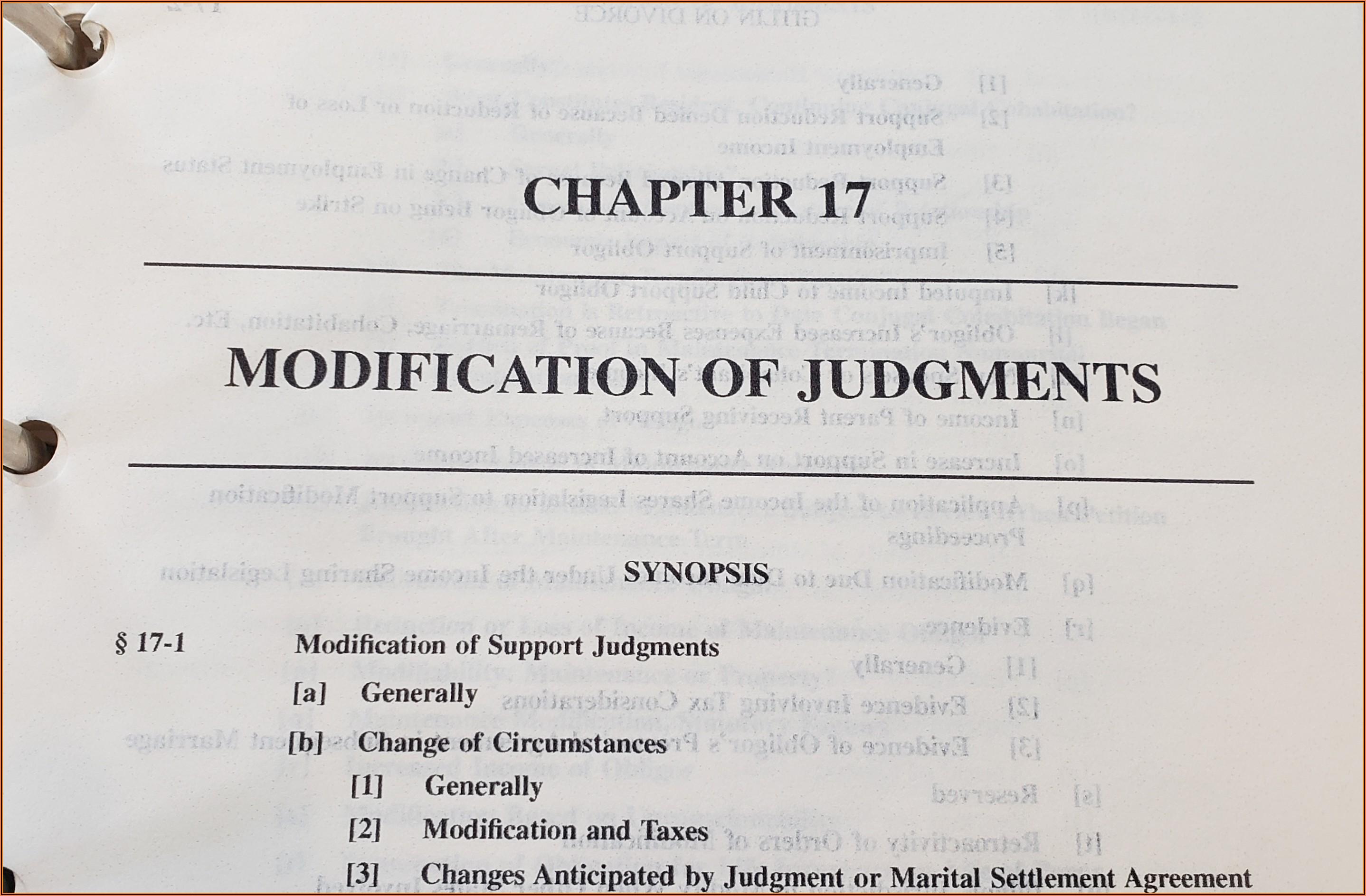 Marital Settlement Agreement Form Illinois