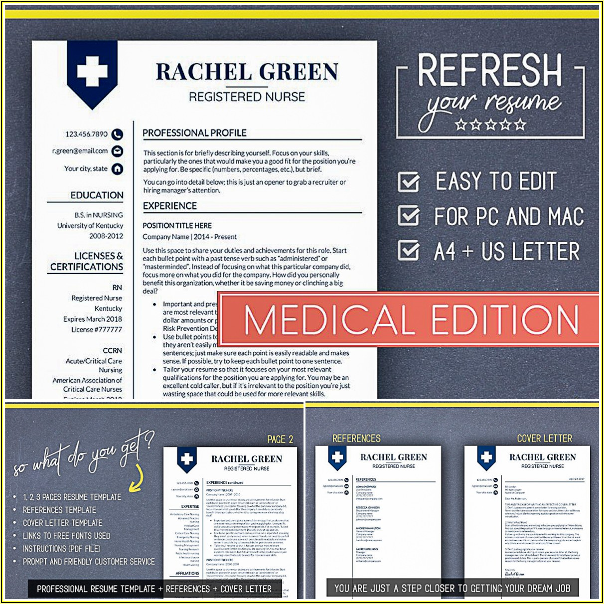 Medical Cv Template Free Download