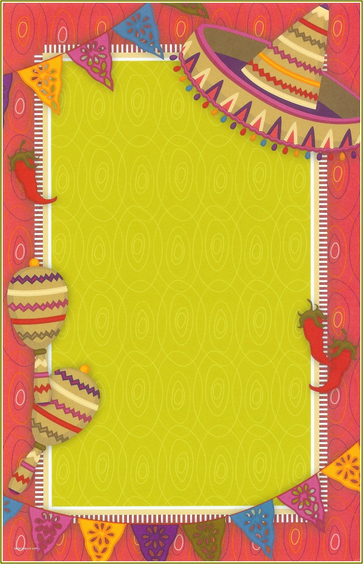 Mexican Themed Invitation Templates Free