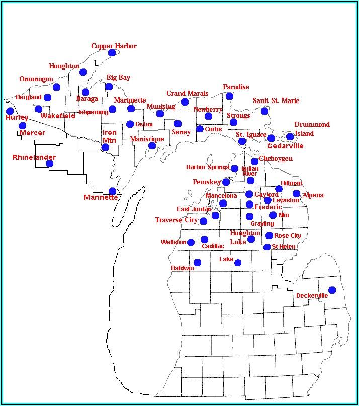 Michigan Trail Maps For Garmin