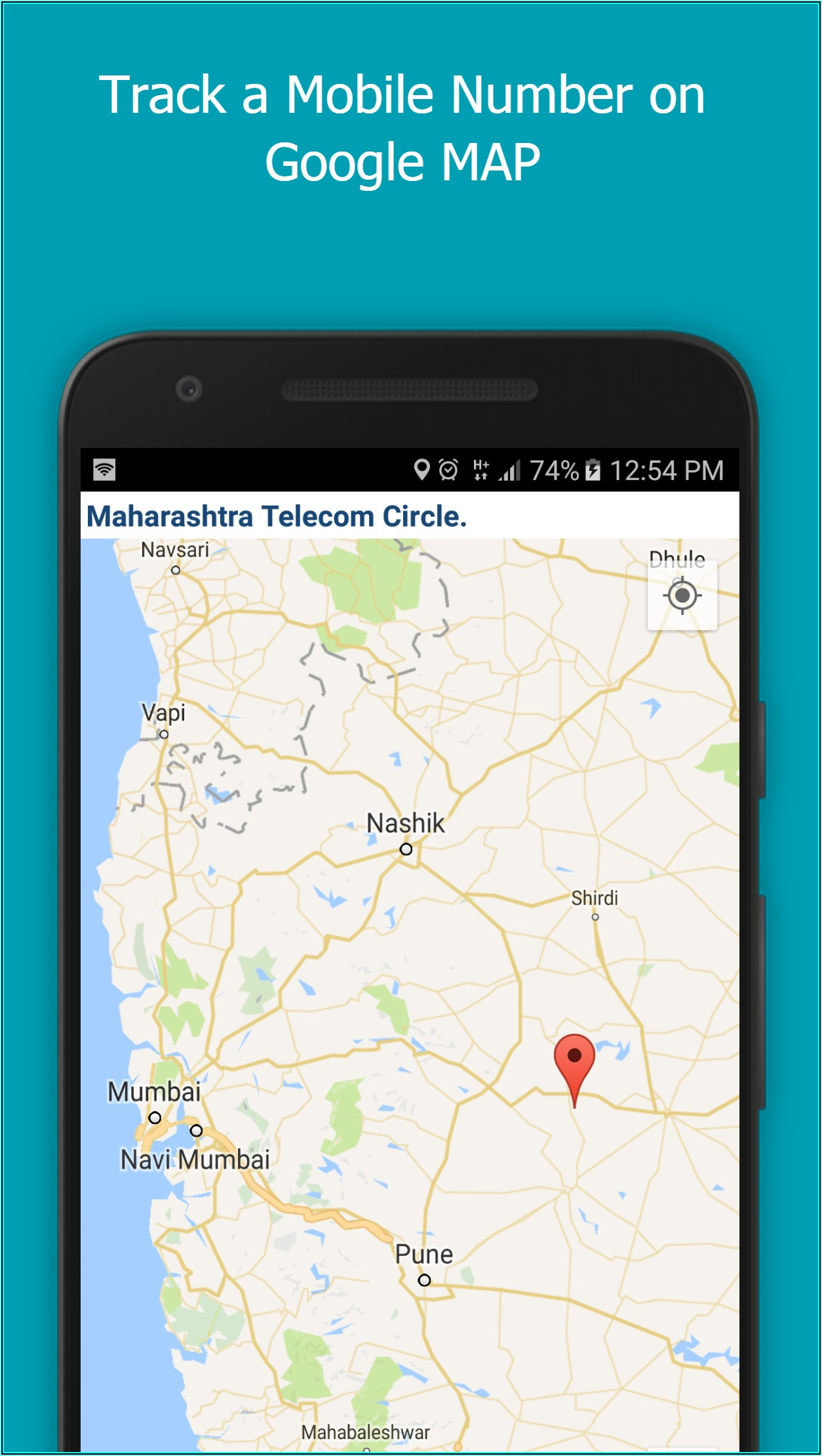Mobile Number Tracker With Google Maps