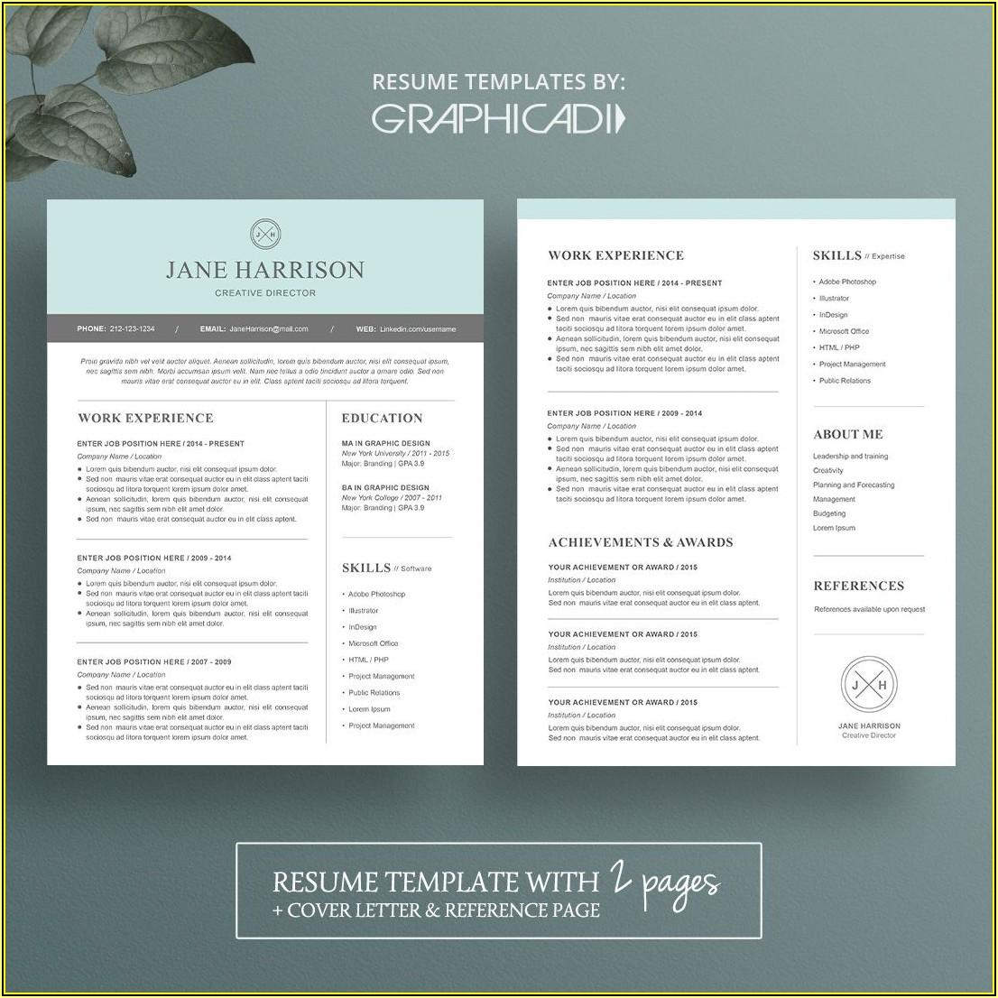 Modern Resume Templates Free Word