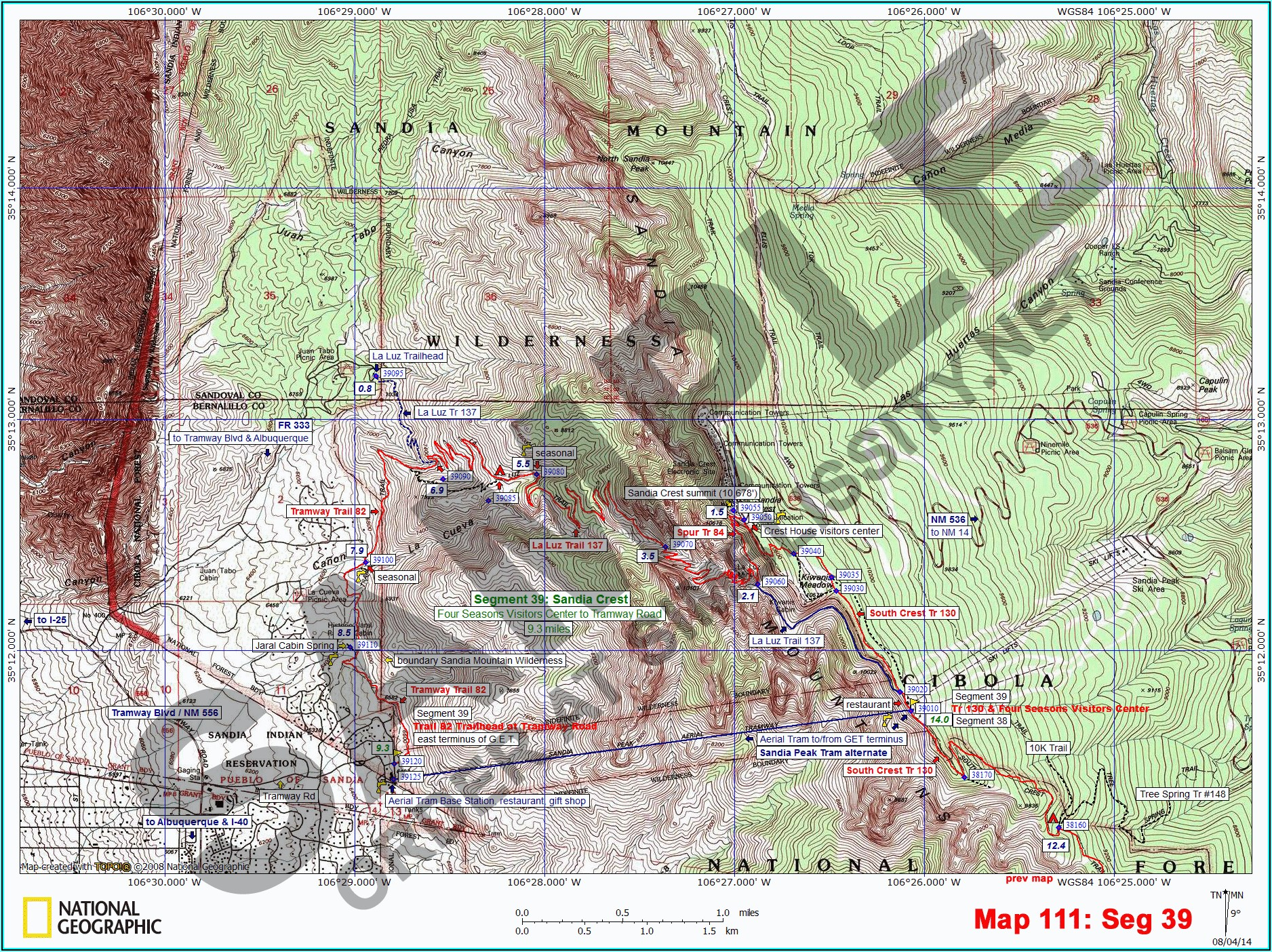 National Geographic Topo Maps Arizona