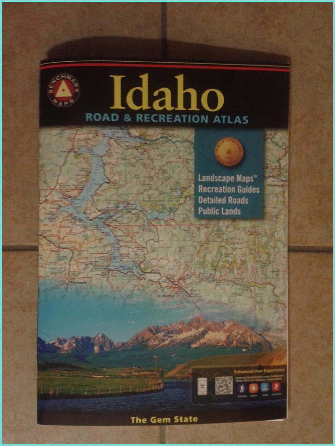 National Geographic Topo Maps Idaho