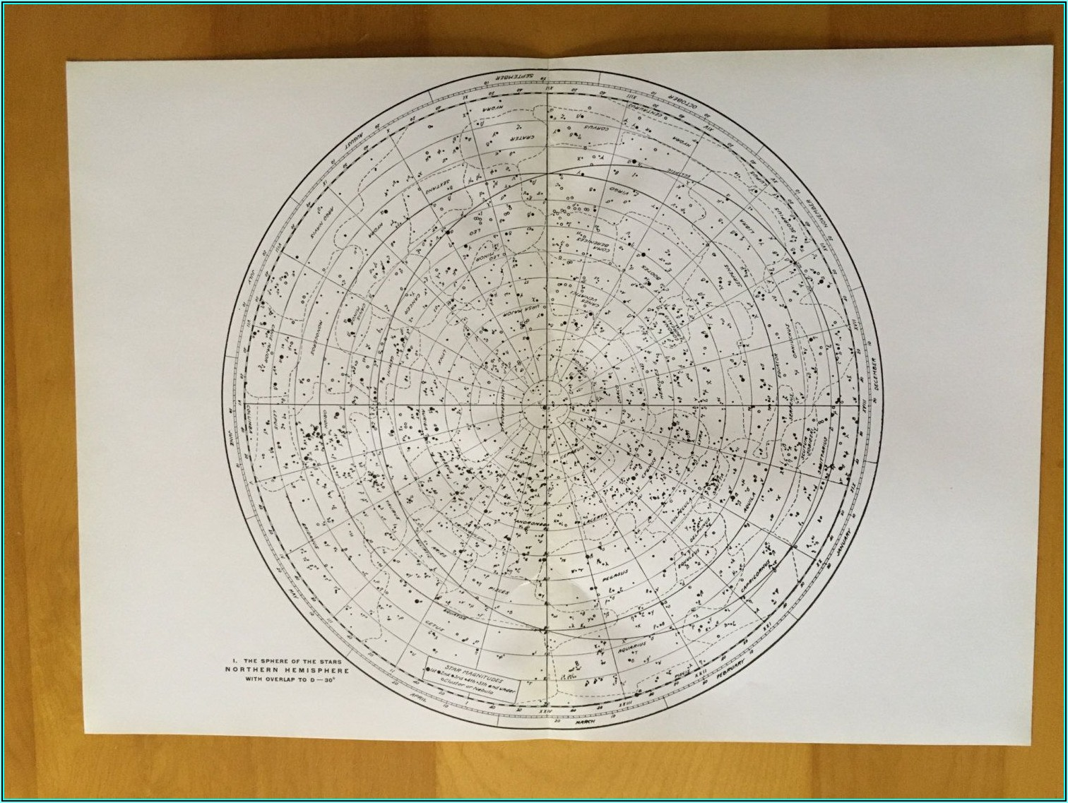 North Star Constellation Map