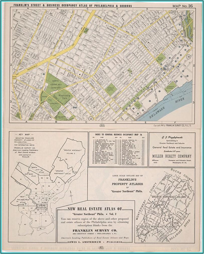 Northeast Phila Street Map