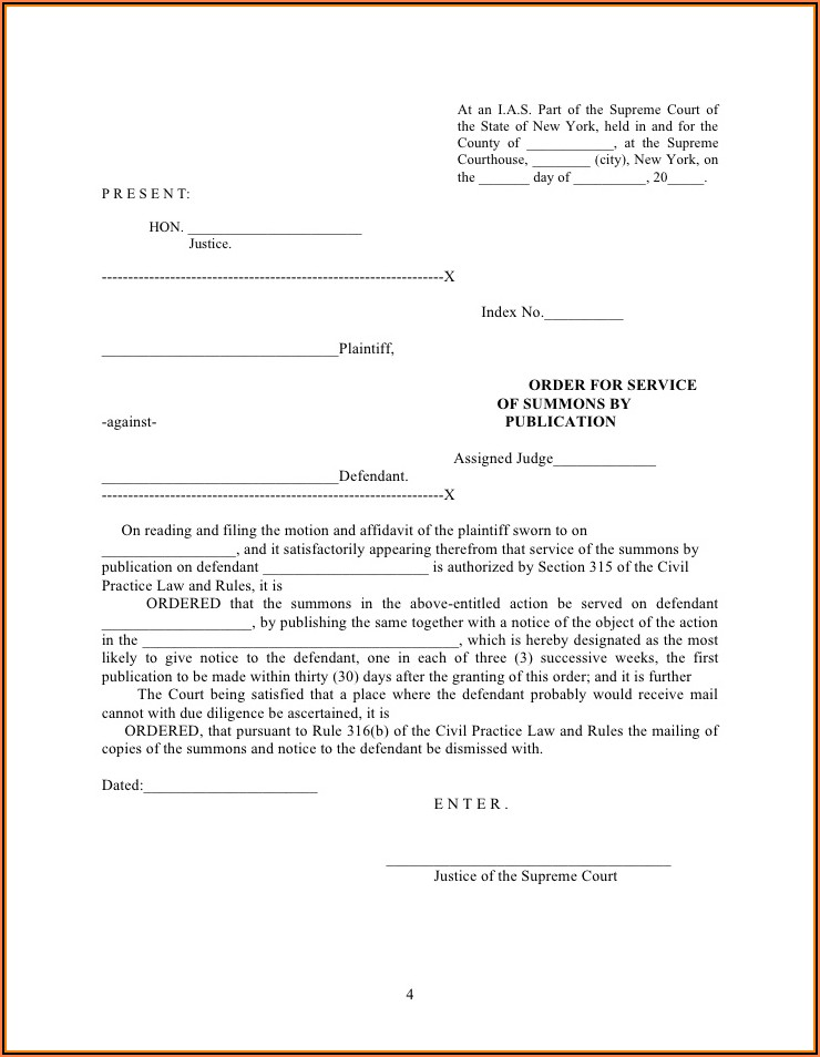 Ny State Divorce Forms