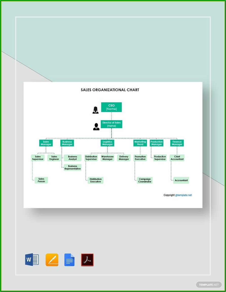 Organizational Chart Template Free Word Download