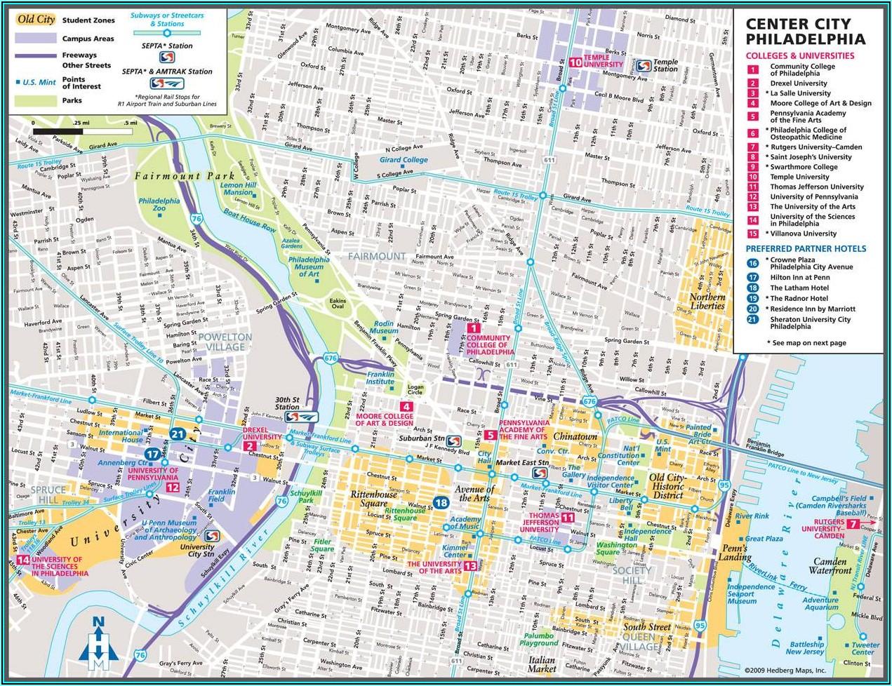 Phila Street Closure Map