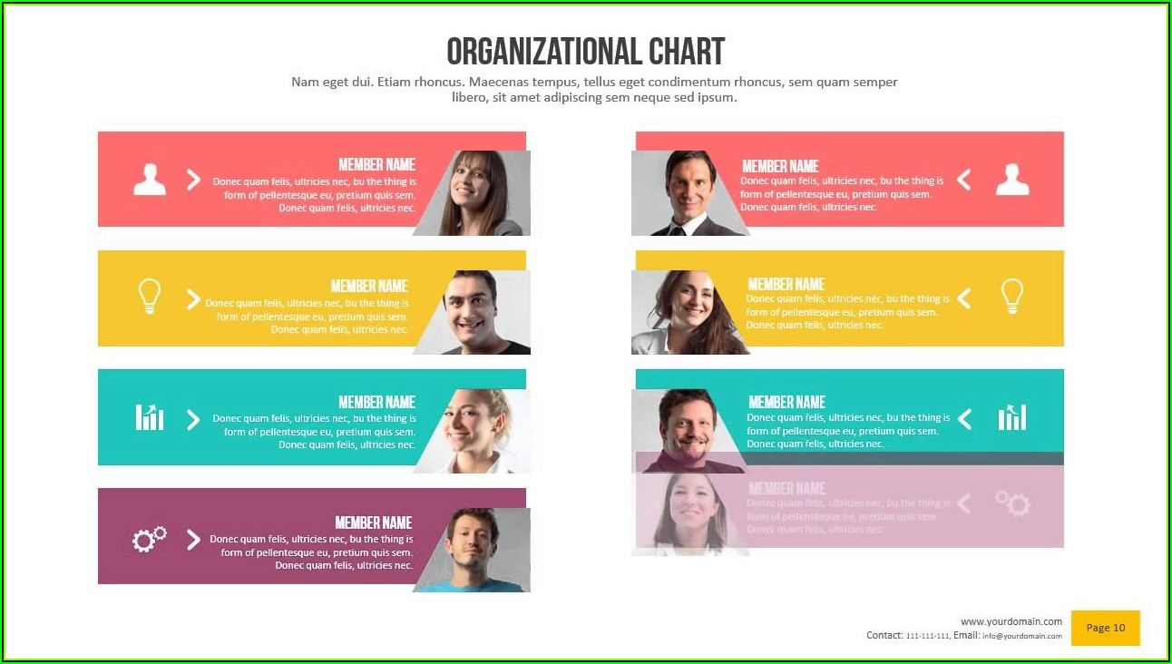 Prezi Organizational Chart Template