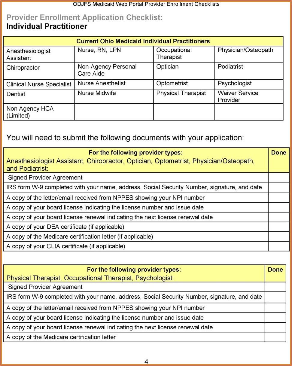 Qmb Application Form Ohio