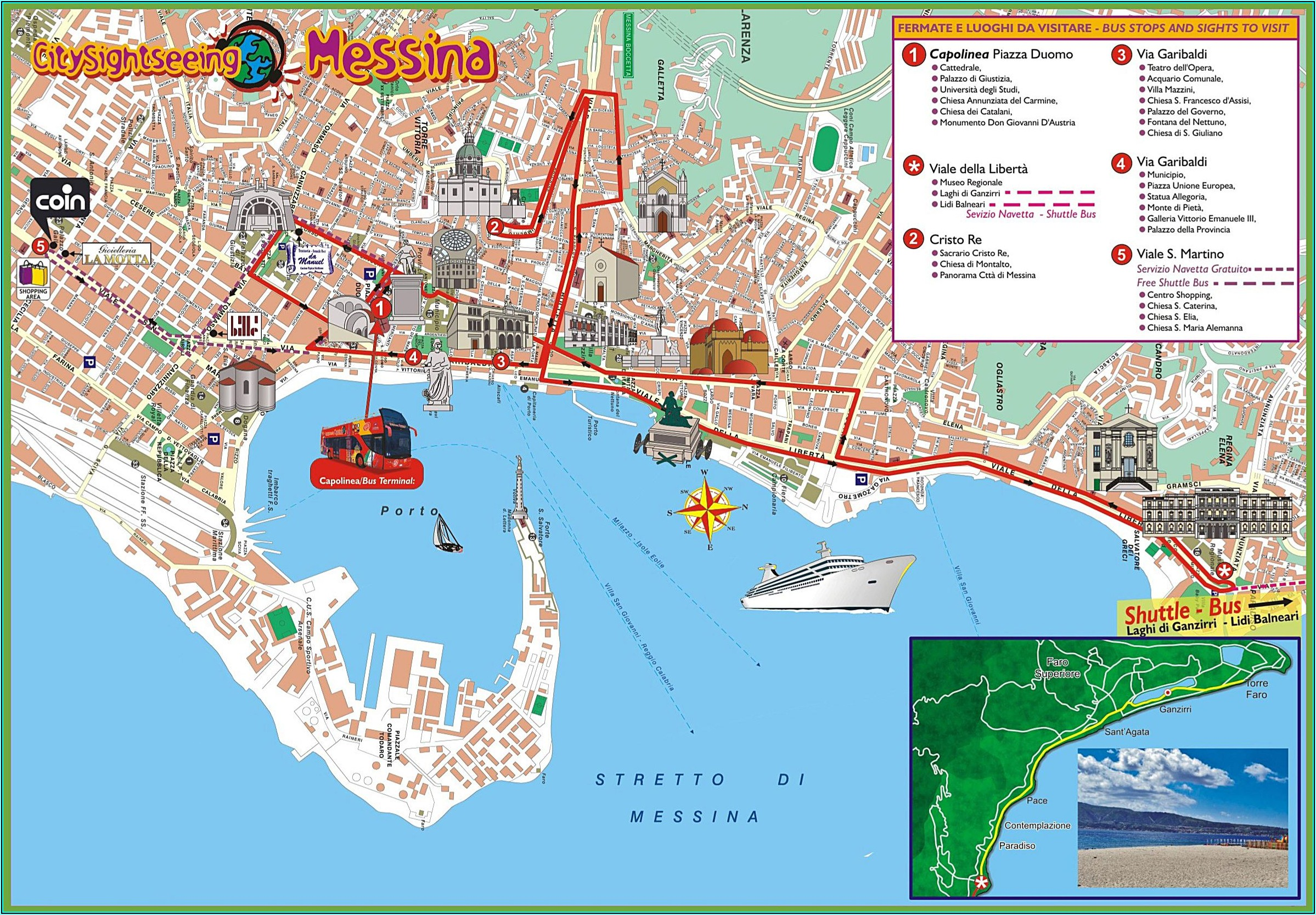 Road Map Of Sicily .pdf