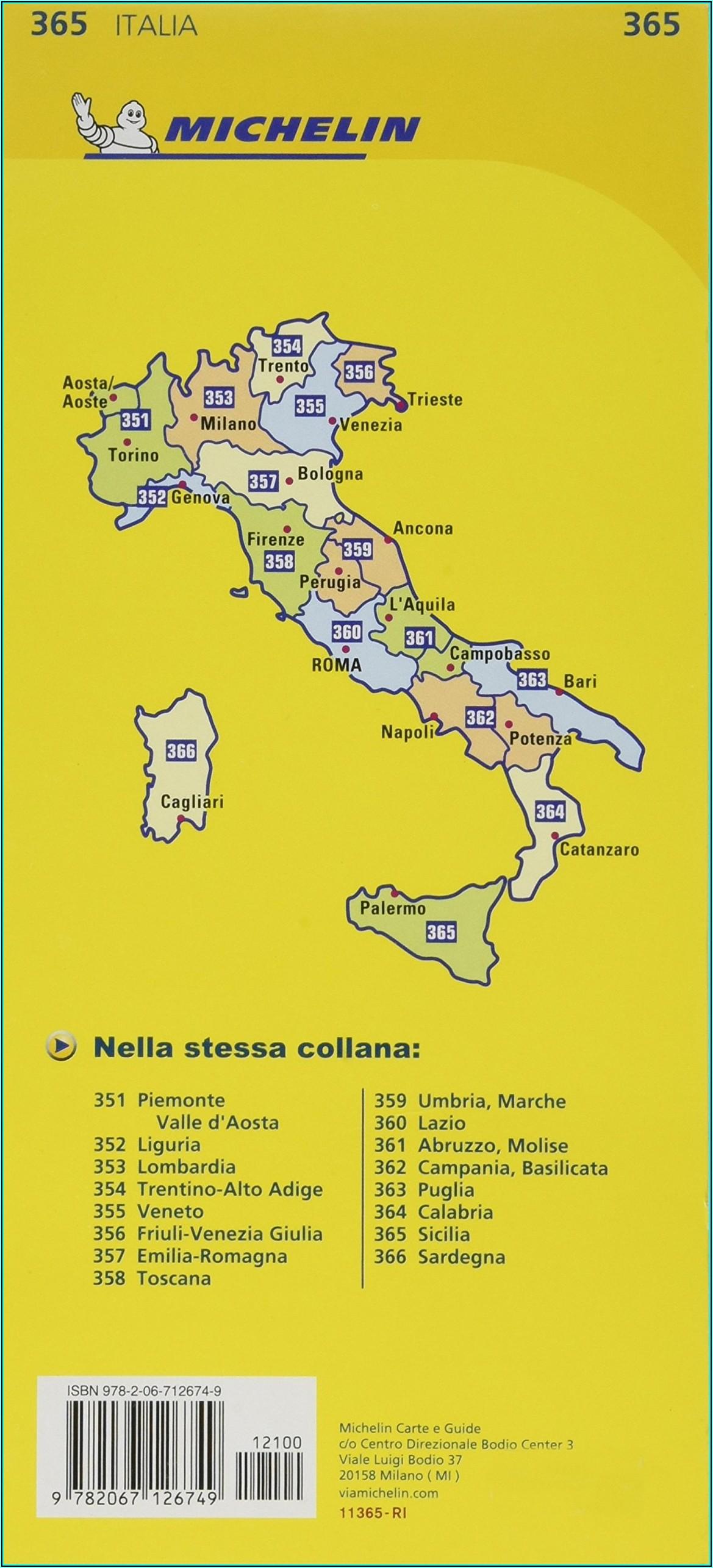 Road Map Of Sicily Amazon
