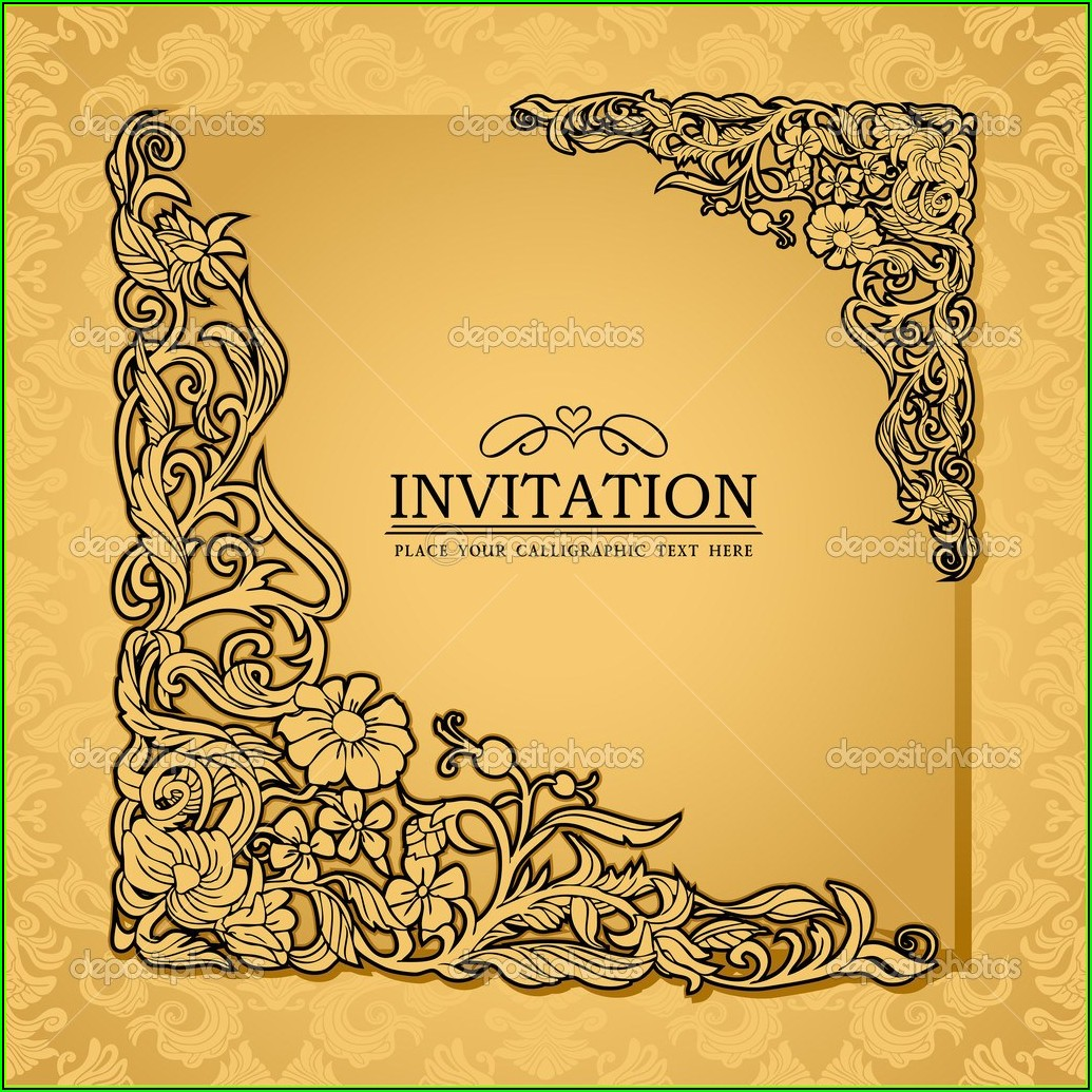 Royal Crown Invitation Template Free