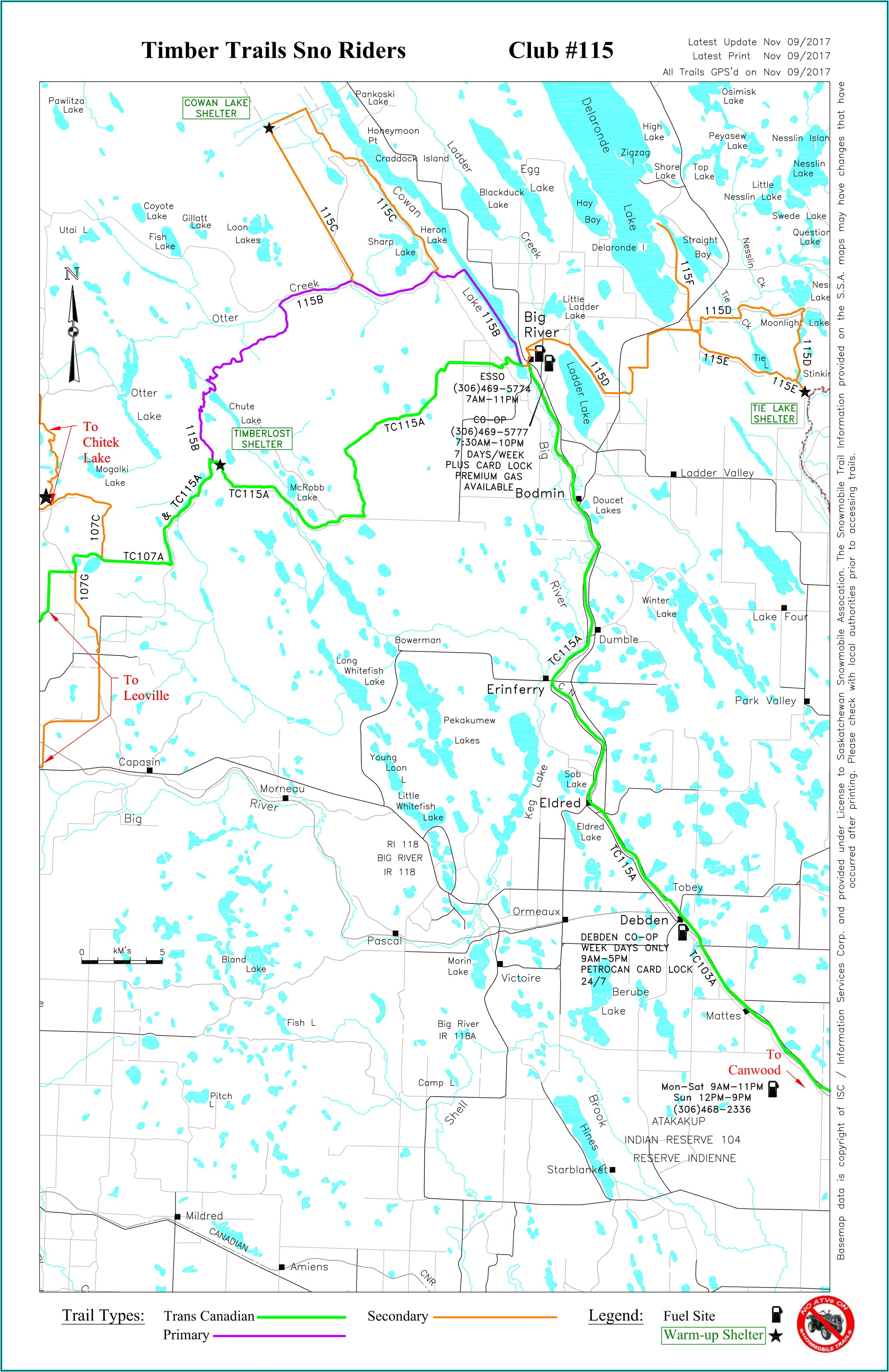 Saskatchewan Snowmobile Trail Gps Maps
