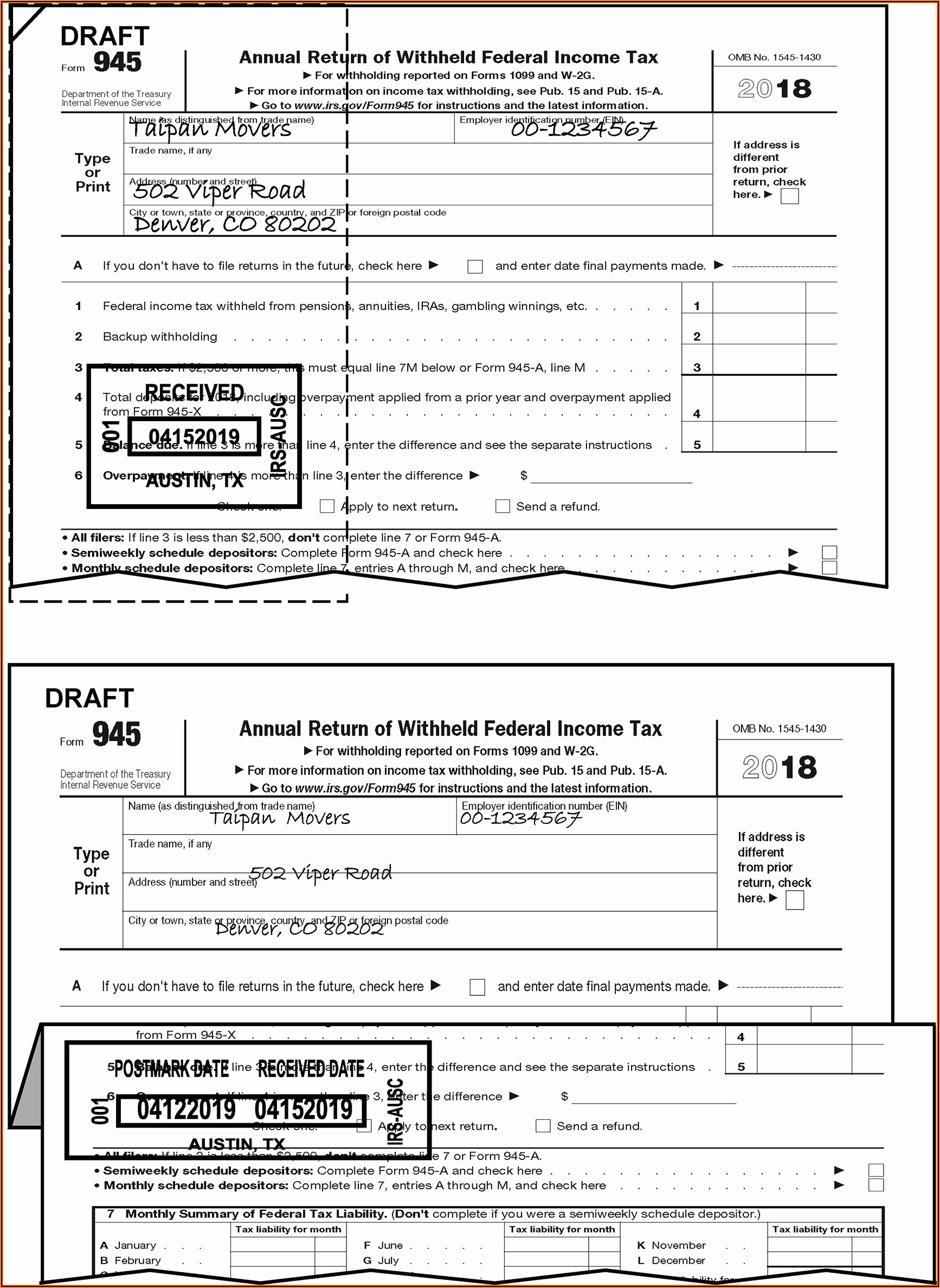 Sc Ez Tax Forms