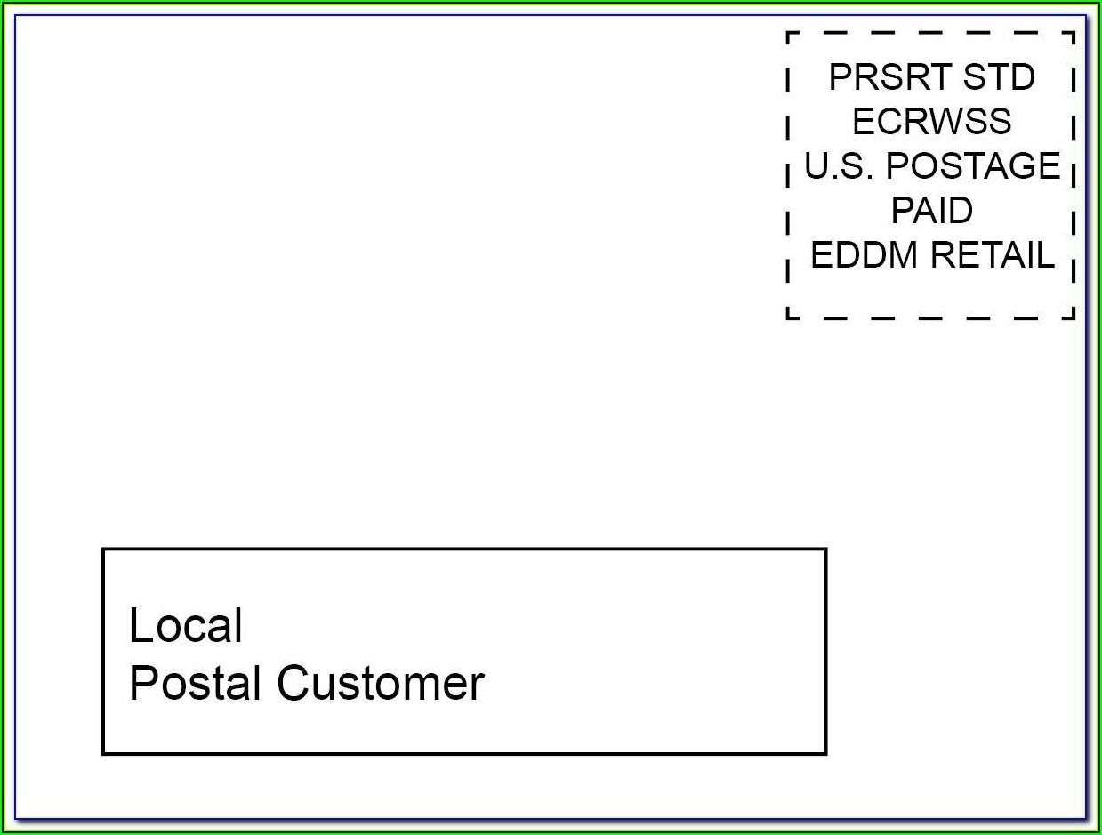 Staples Matte White Postcards Template