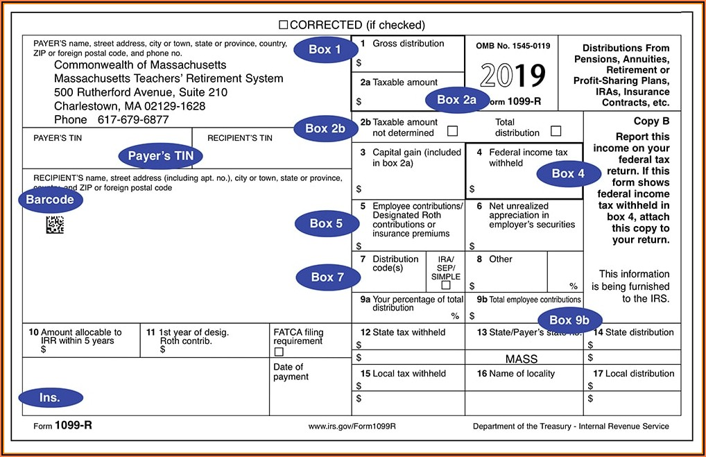 Tax Id Form For 1099