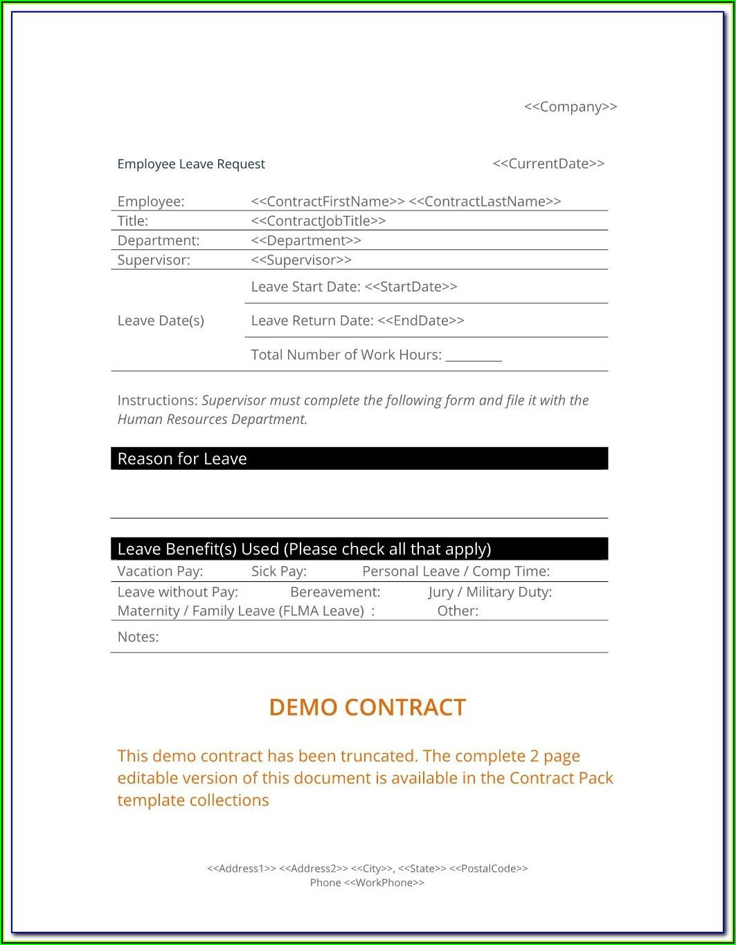Template Employee Handbook Uk
