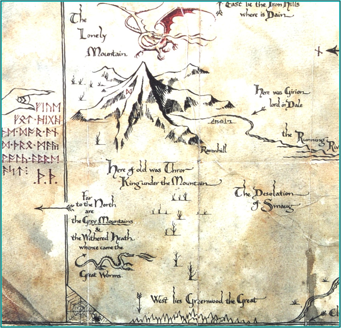Thorin Oakenshield Map