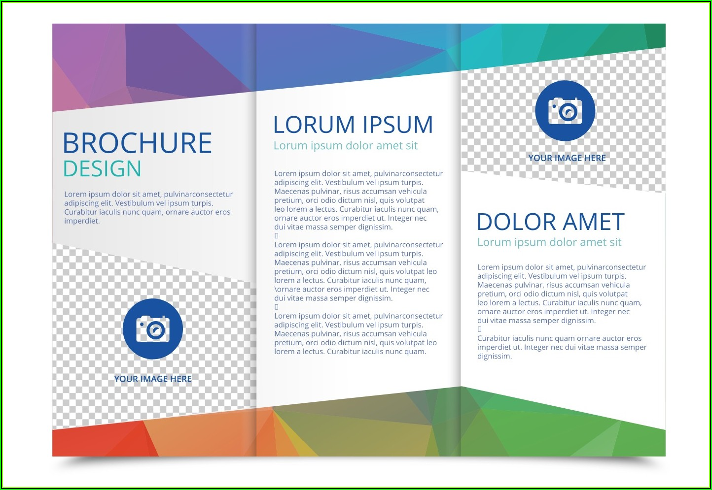 Three Fold Brochure Template Free Download