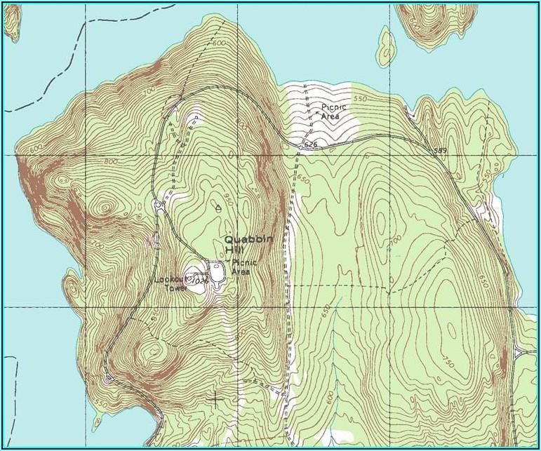 Topo Map Southern Arizona