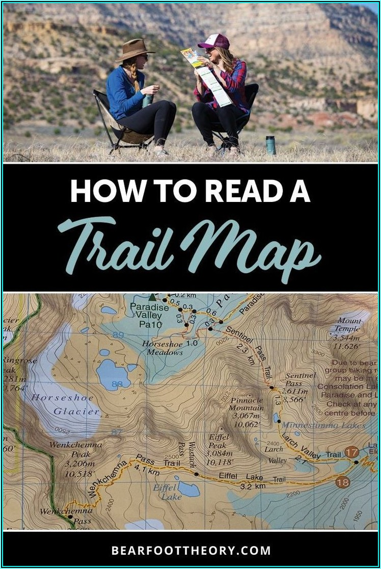 Topographic Hiking Maps