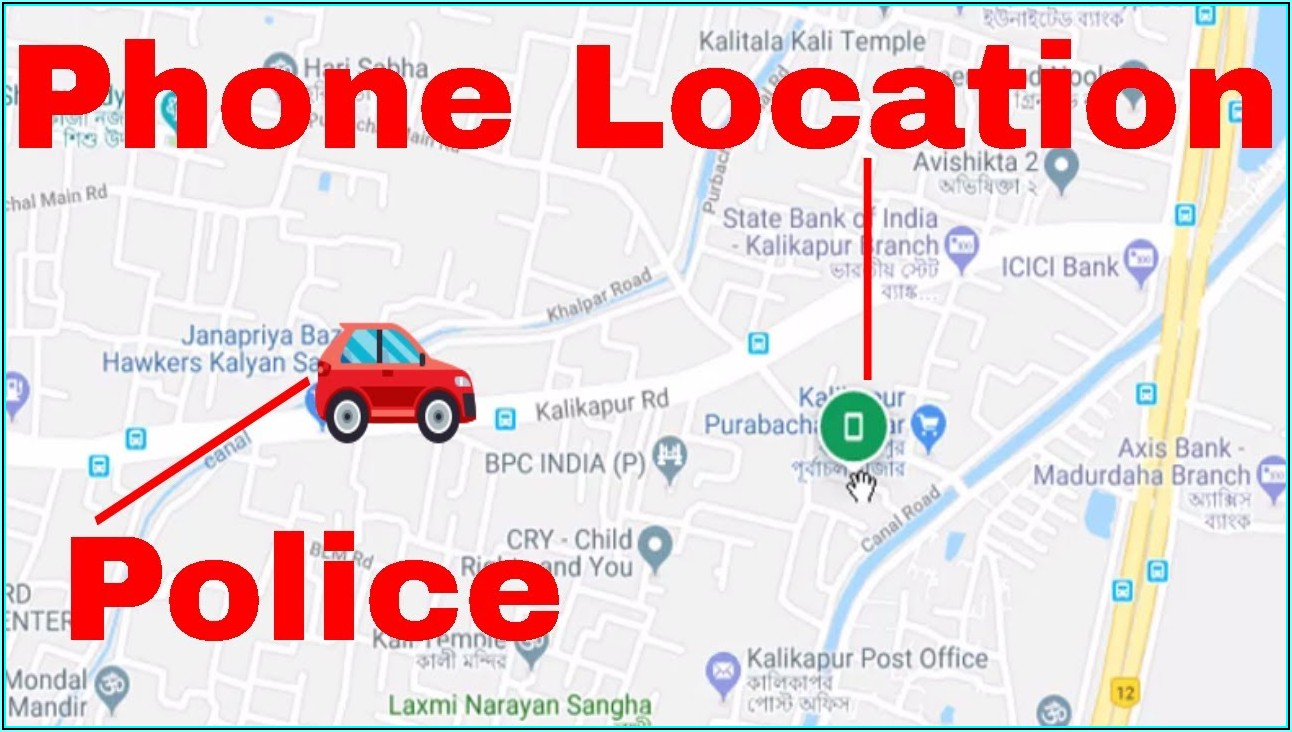 Track Mobile Phone With Google Maps