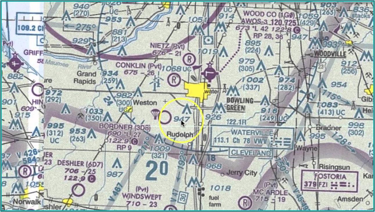 Understanding Aviation Sectional Maps
