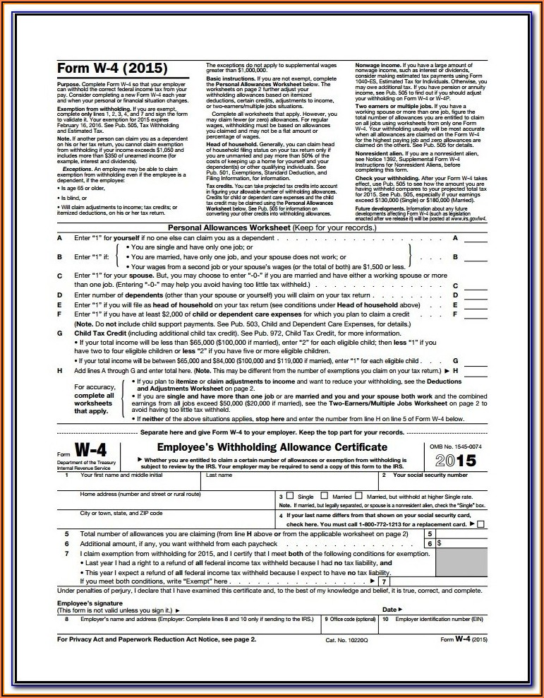 Us Gov Tax Forms 1040a