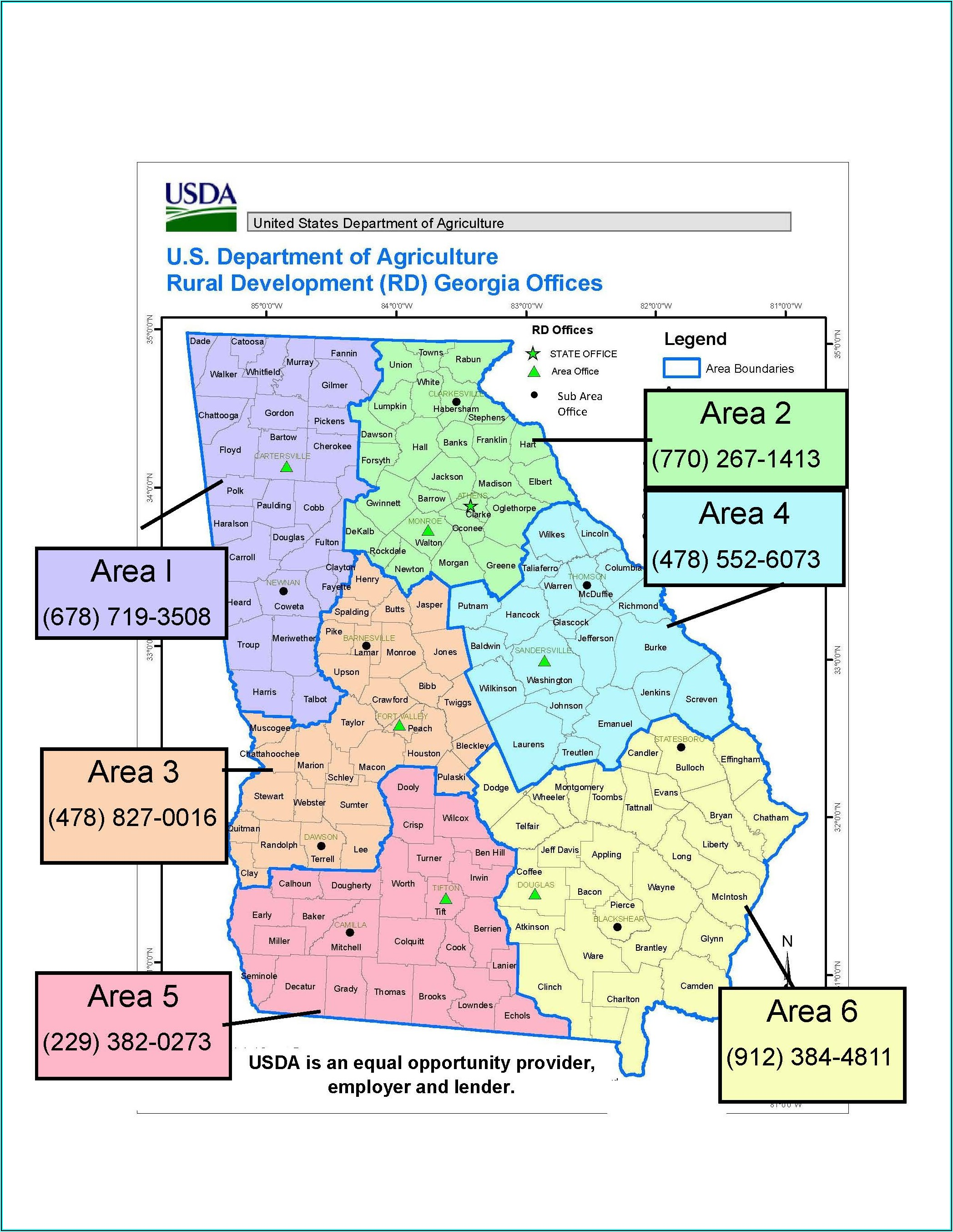 Usda Loans Tn Map