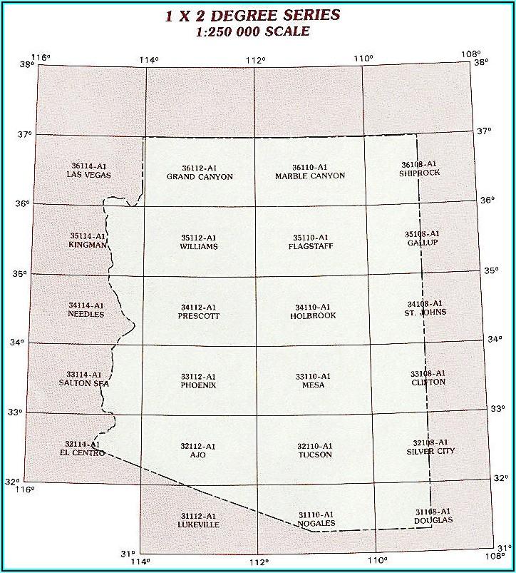 Usgs Topo Maps Arizona