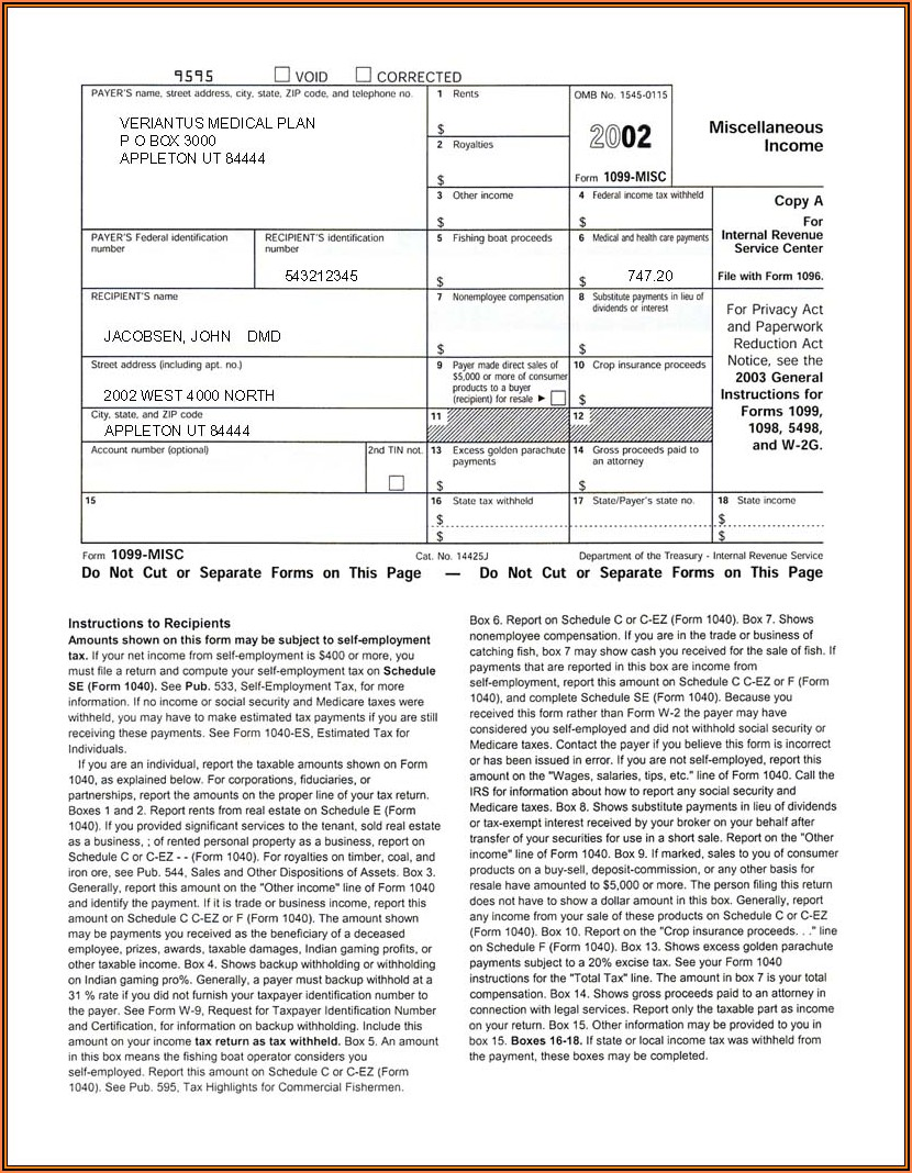 Where To Get Form 1099 G