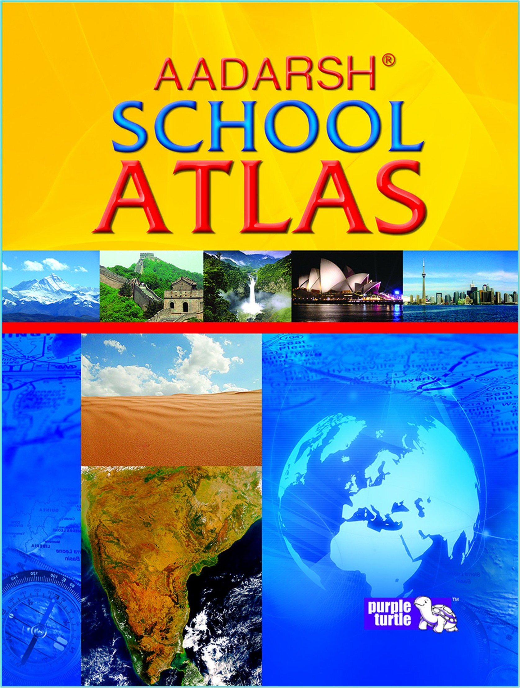 World Atlas Map Book