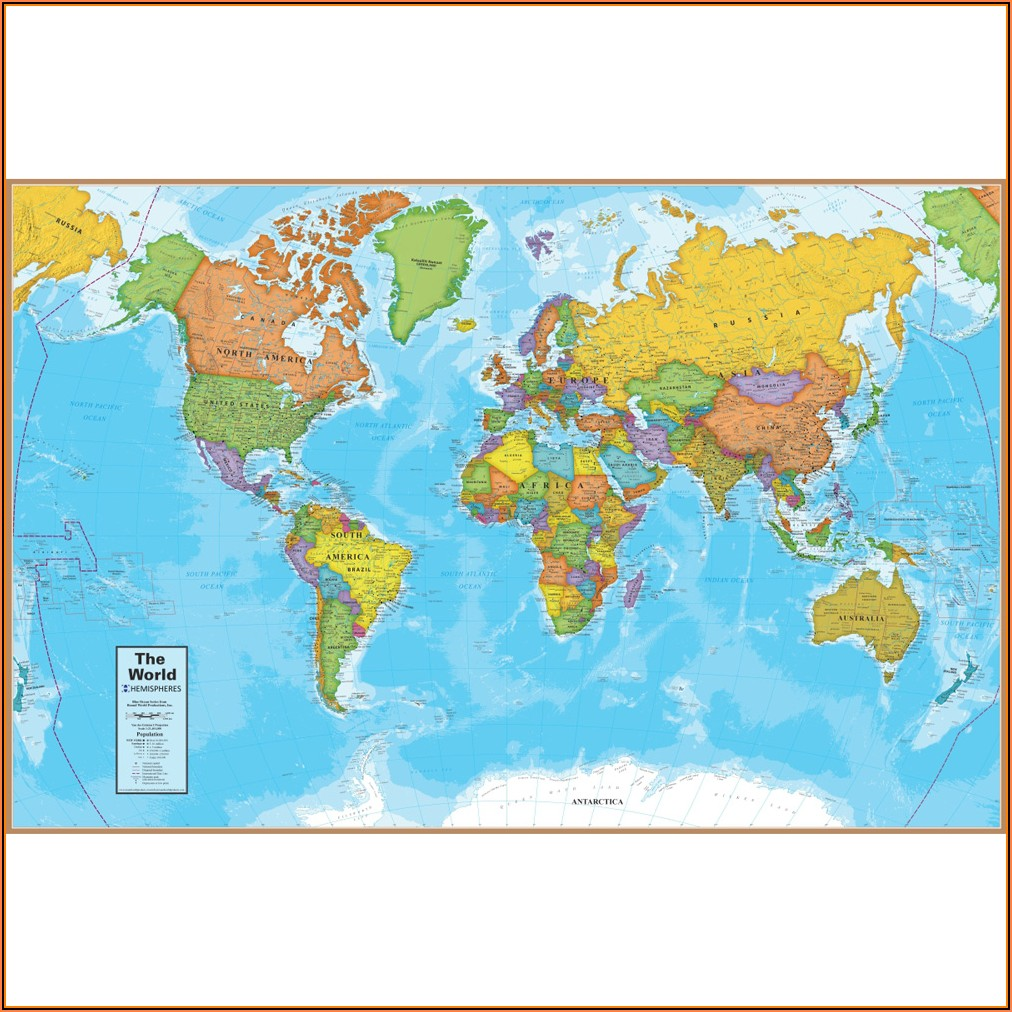 500 Piece Jigsaw Puzzle World Map