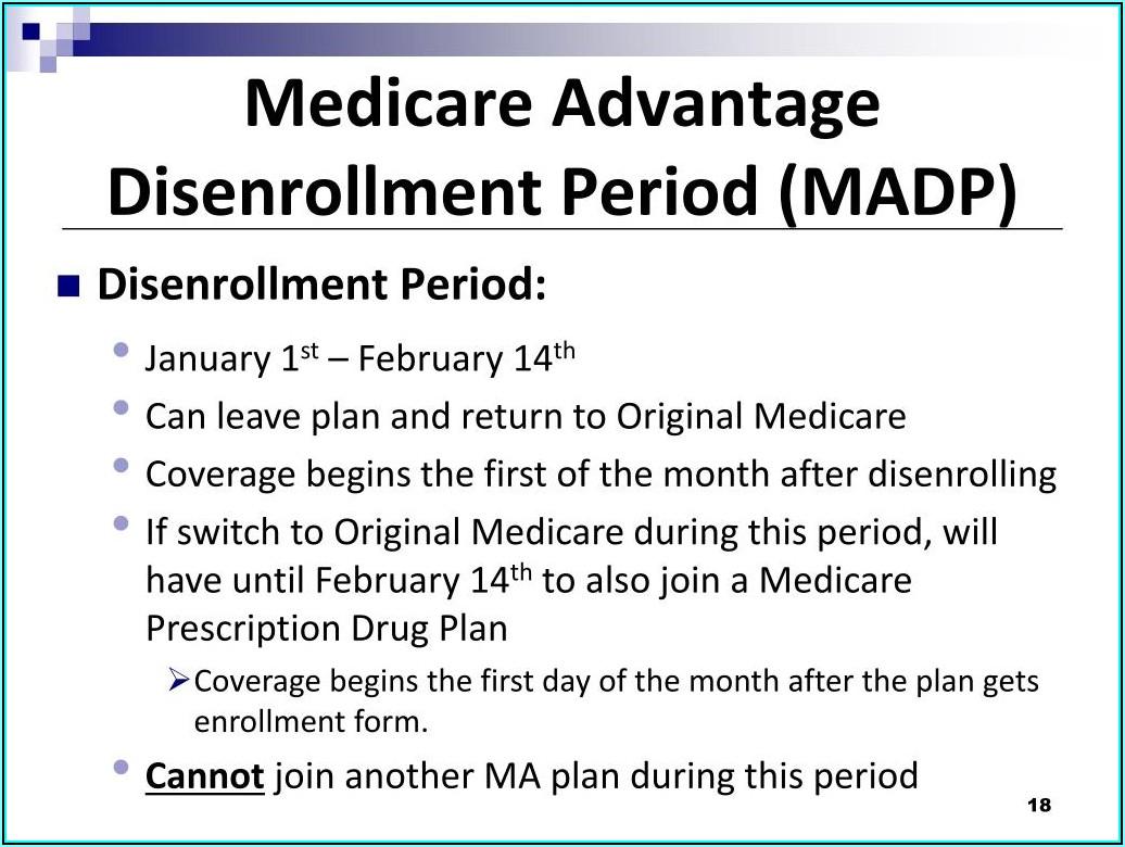 Anthem Medicare Advantage Disenrollment Form