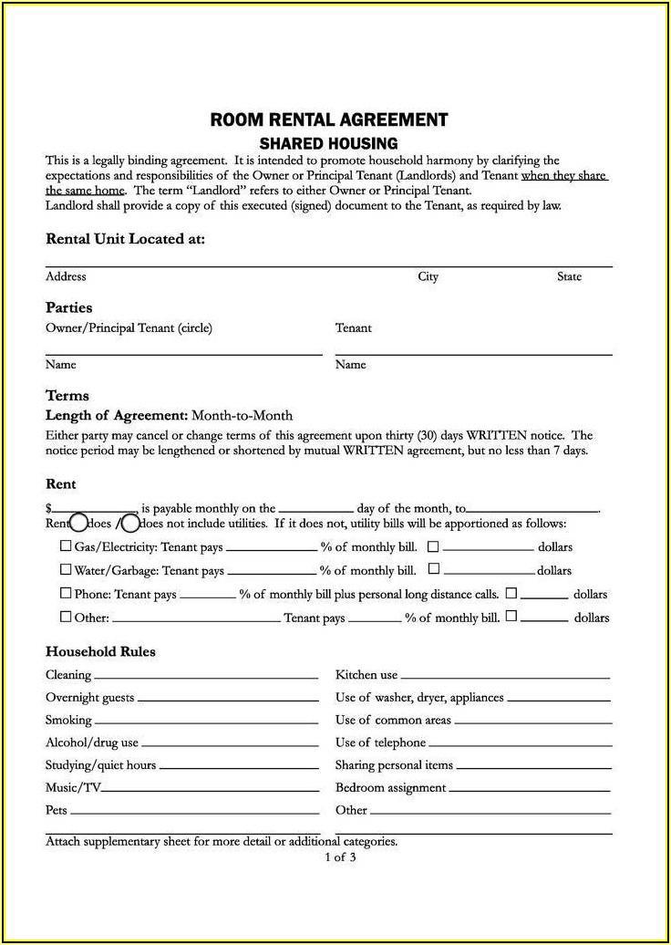 California Rental Agreement Renewal Form