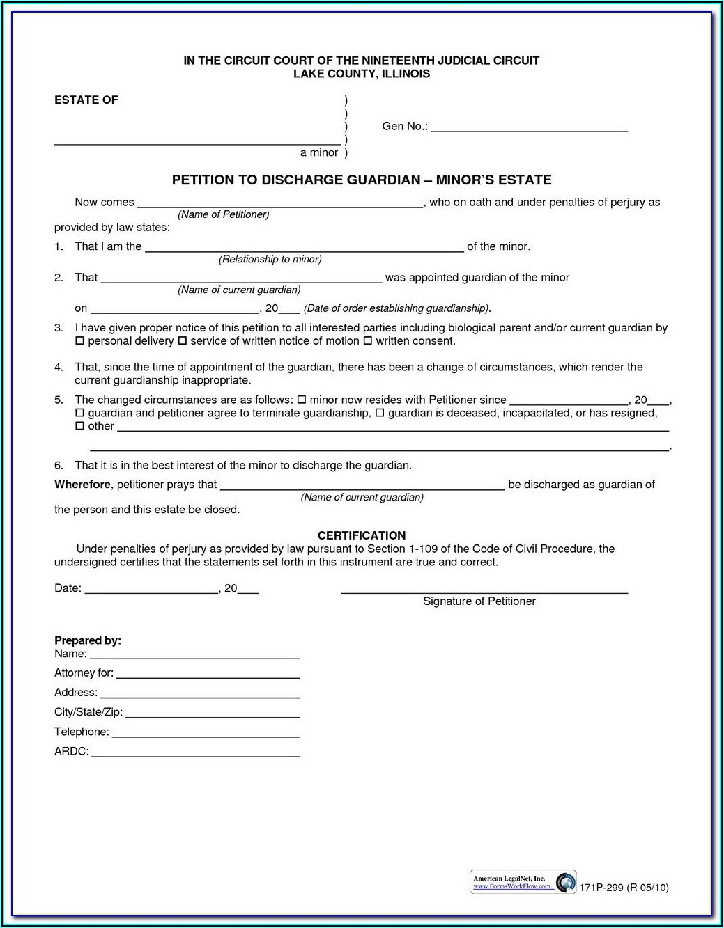 Divorce Forms Illinois