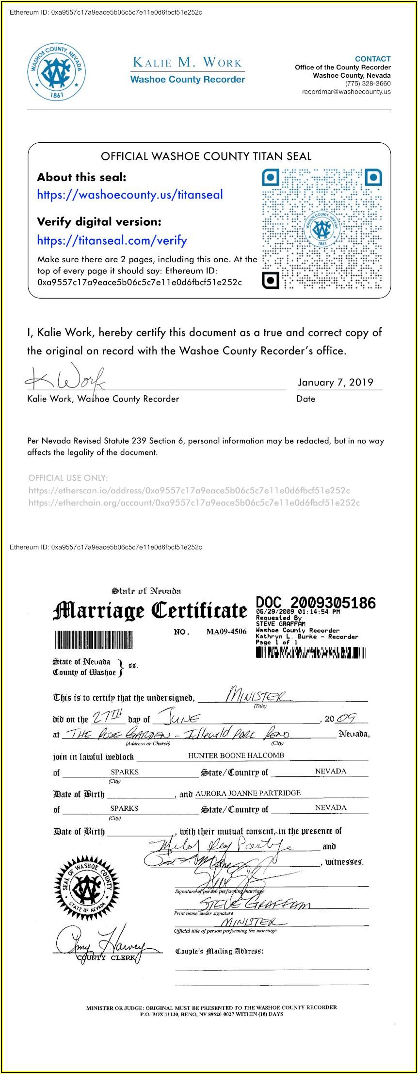Divorce Forms Reno Nevada